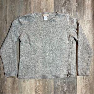 Hekla & Co Merino Wool/Cashmere Blend Sweater